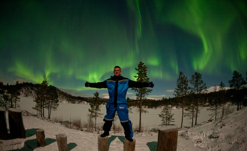 norway aurora northern lights mark