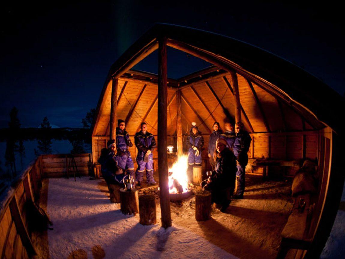 norway lavvu camp nikka malangen resort
