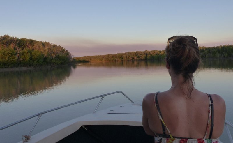 australia bamurru plains boat