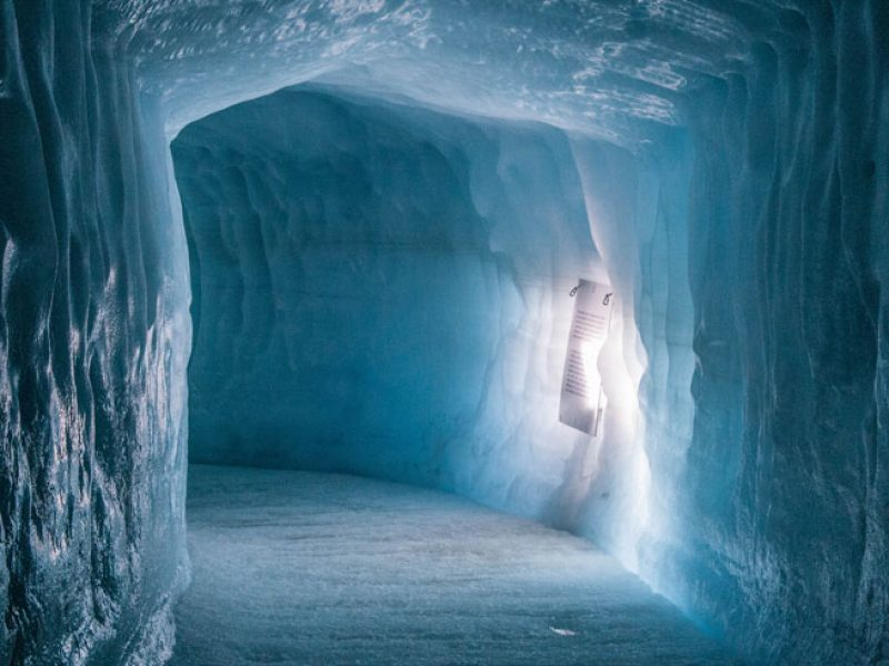 iceland into the glacier kate muggleton