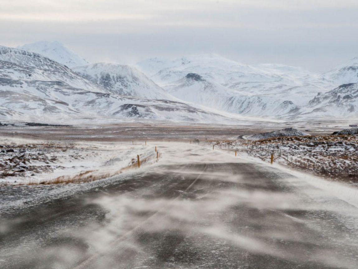 iceland winter road kate muggleton
