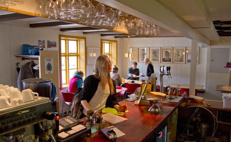 skaftfell bistro restaurant iceland east fjords