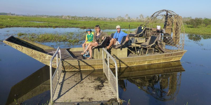 australia mary river wetlands airboat ms