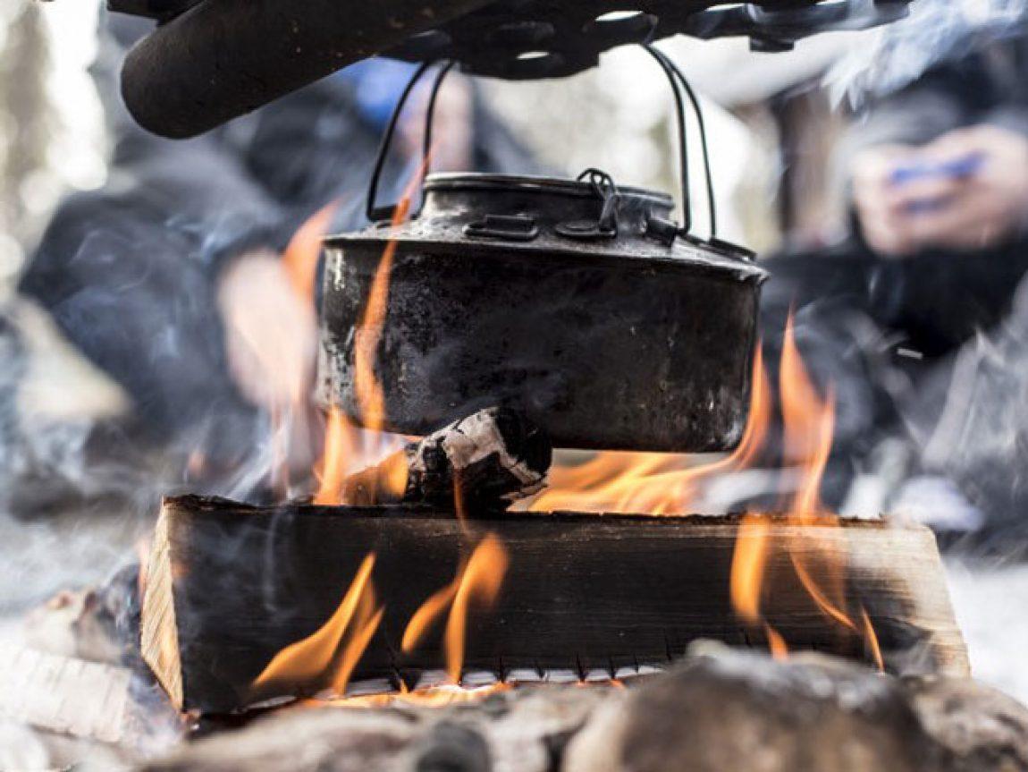 wilderness survival kokkaffe coffee