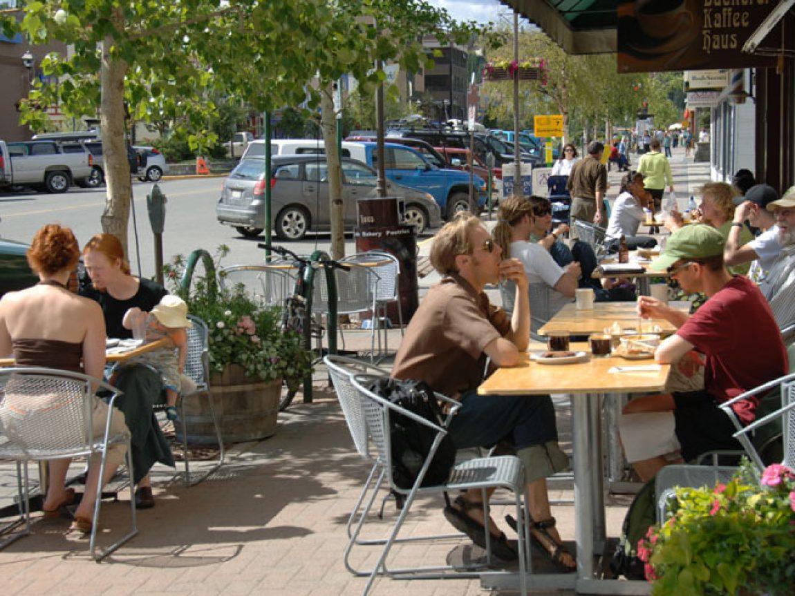 canada yukon cafe summer