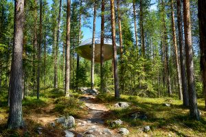 swedish lapland treehotel ufo summer gr