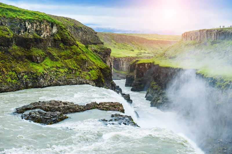 iceland south west gullfoss and hvita canyon istk