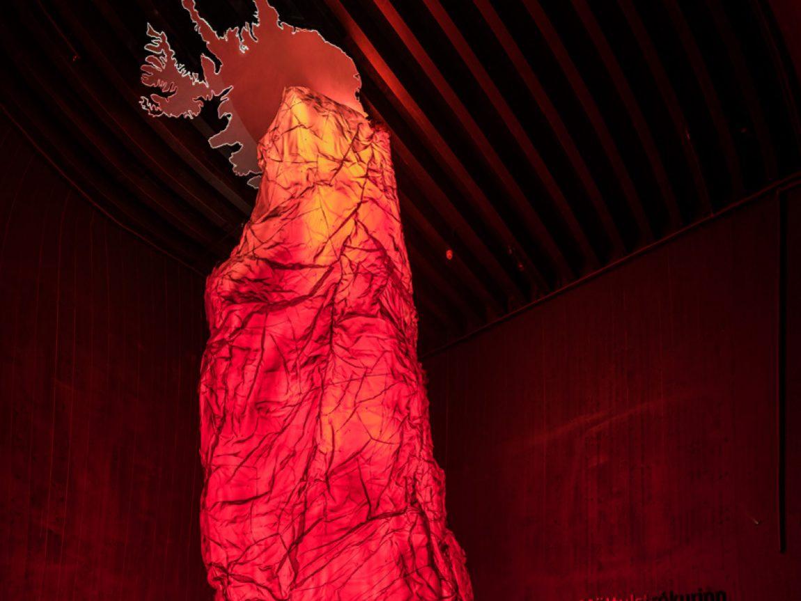 iceland lava centre basalt column 1
