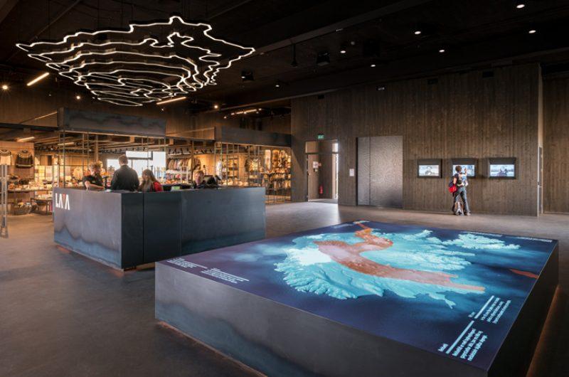 iceland lava centre reception and shop 1
