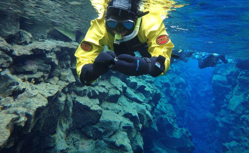 Silfra fissure snorkelling thingvellir iceland