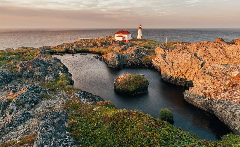 canada newfoundland quirpon island lighthouse setting gte