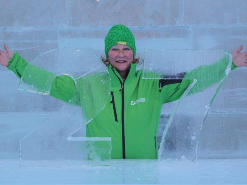 discover the world icehotel rep maddie