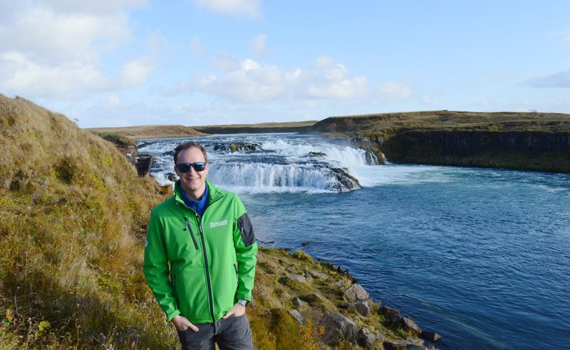 west iceland barnafoss andy