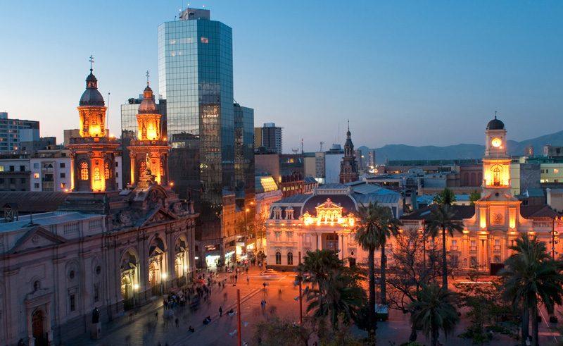 chile santiago plaza de armas