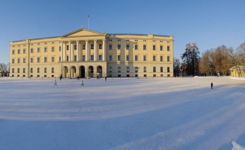 norway oslo royal palace