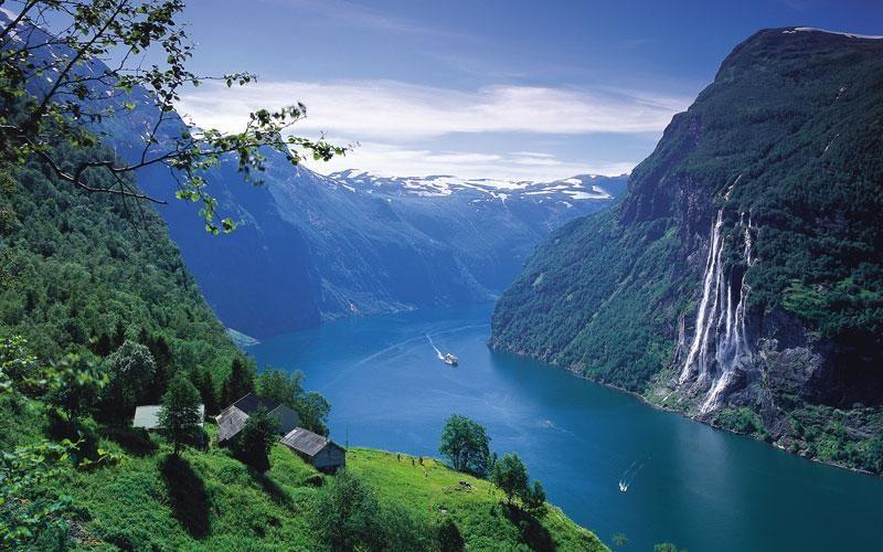 norway geirangerfjord fjord norway