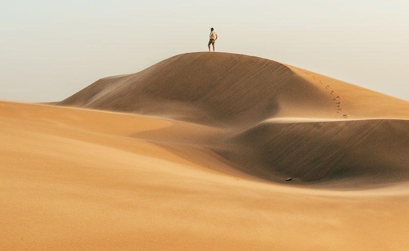 Swakopmund dune namib desert namibia