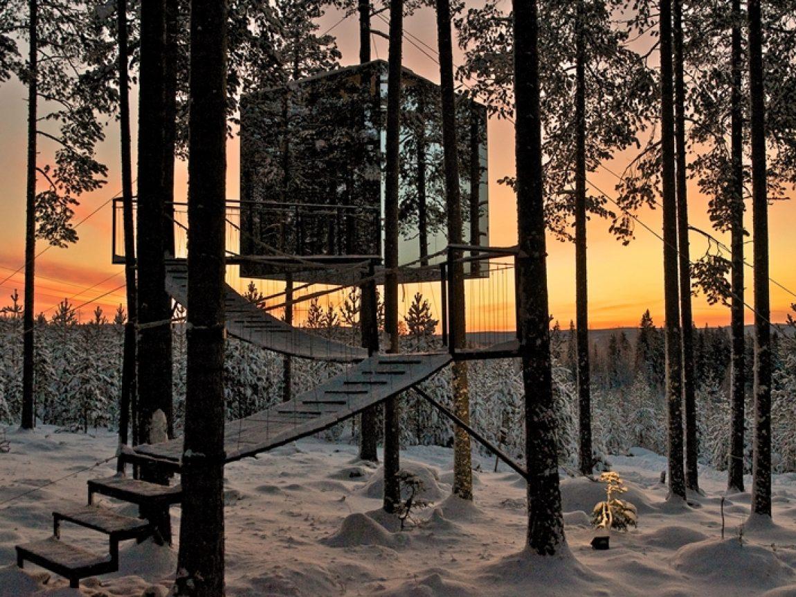 sweden treehotel cube graeme richardson