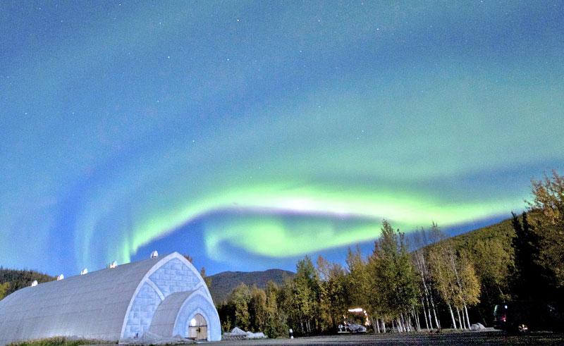 alaska chena aurora ice museum