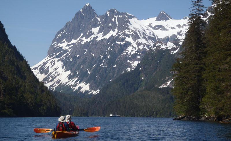 alaska inside passage kayaking id