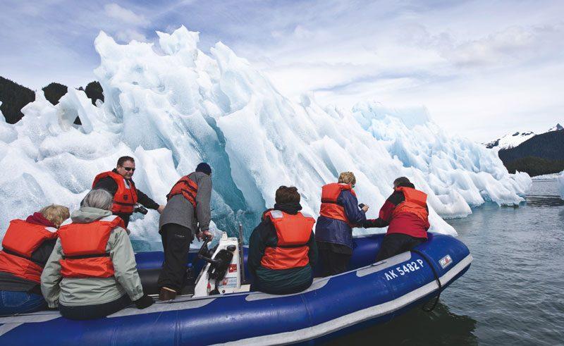 alaska inside passage skiff excursion