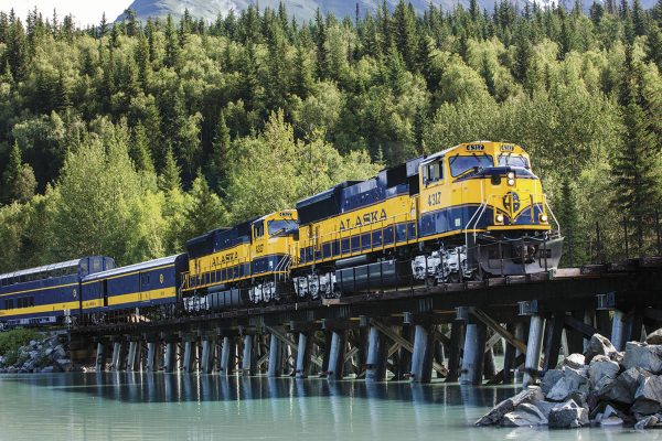 alaska railroad coastal classic train