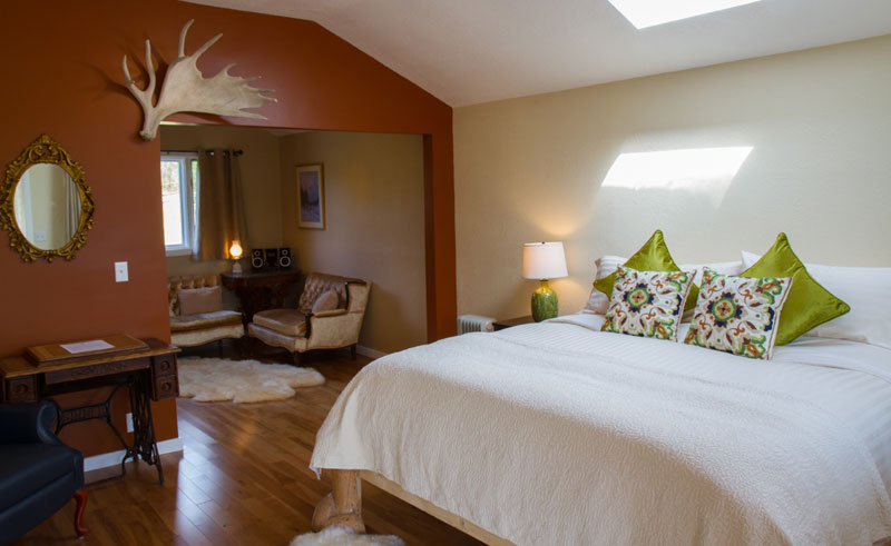 alaska ultima thule lodge bedroom