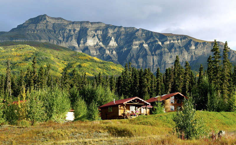 alaska ultima thule lodge exterior