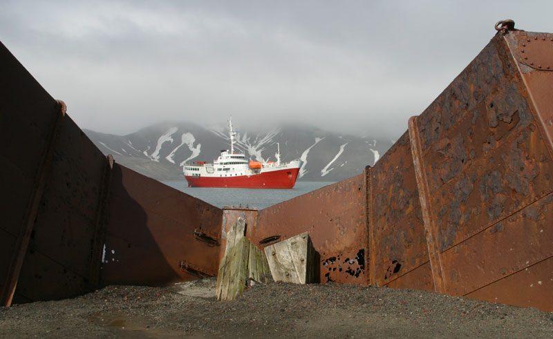 antarctica deception island whale station remnants pf