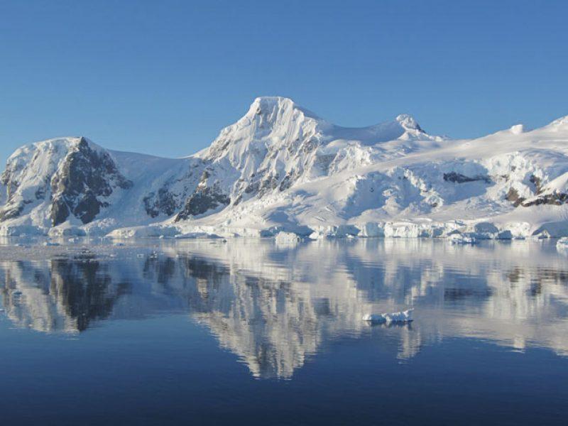 antarctica mountain ice reflection jc 1