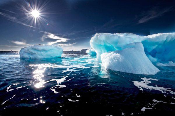 antarctica ross sea icebergs ocnwde