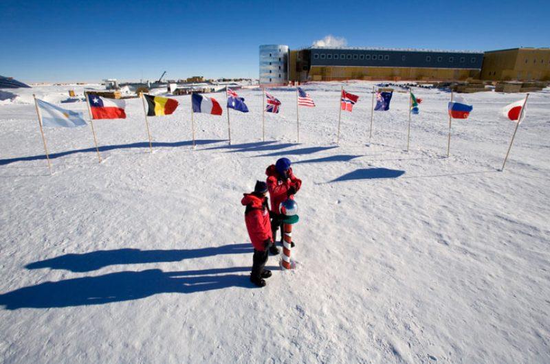 antarctica south pole ani