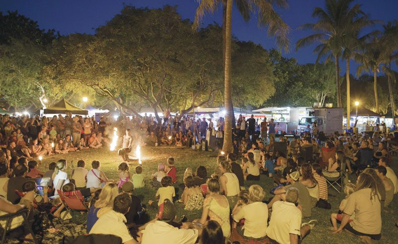 australia northern territory darwin mindil beach market ta