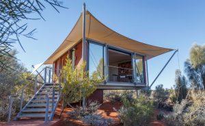 australia northern territory longitude 131 luxury tent exterior