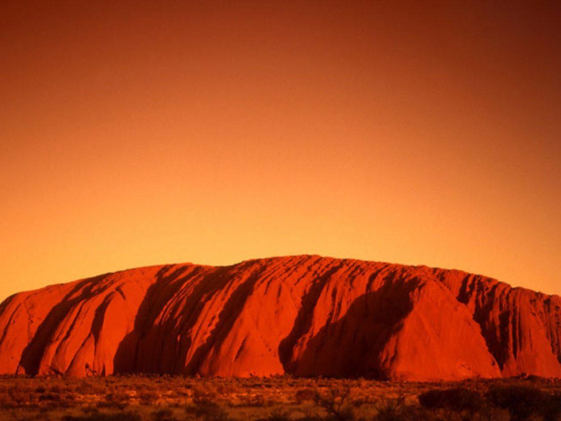 australia northern territory uluru sunset ta