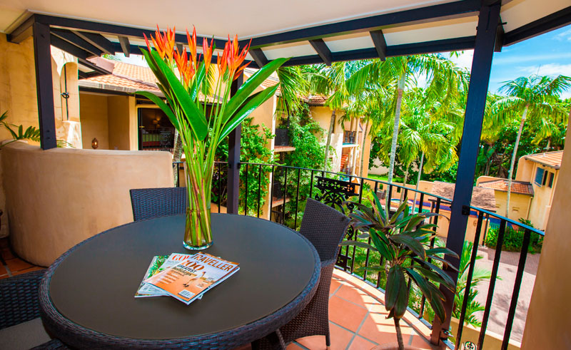 australia qld port douglas balcony villa san michele
