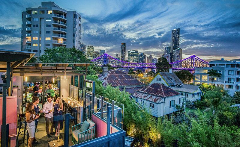 australia qld terrace brisbane spicers balfour