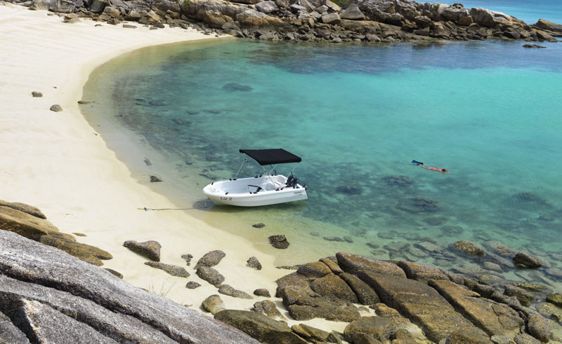 australia queensland lizard island beach ta