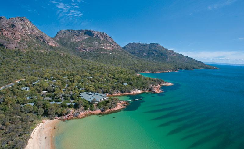 australia tasmania freycinet lodge tt