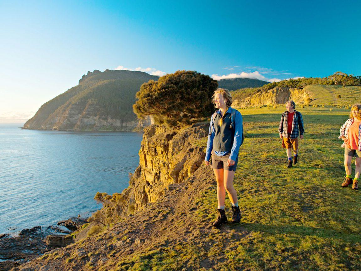 australia tasmania maria island walk