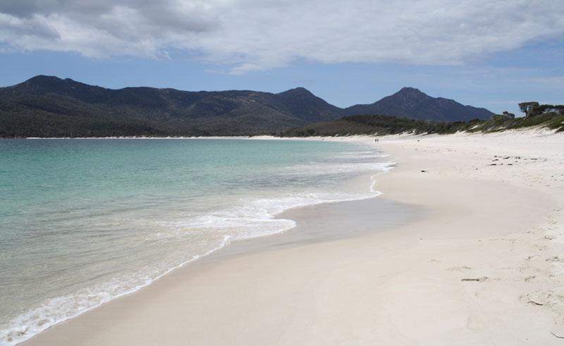 australia tasmania wineglass bay beach tt