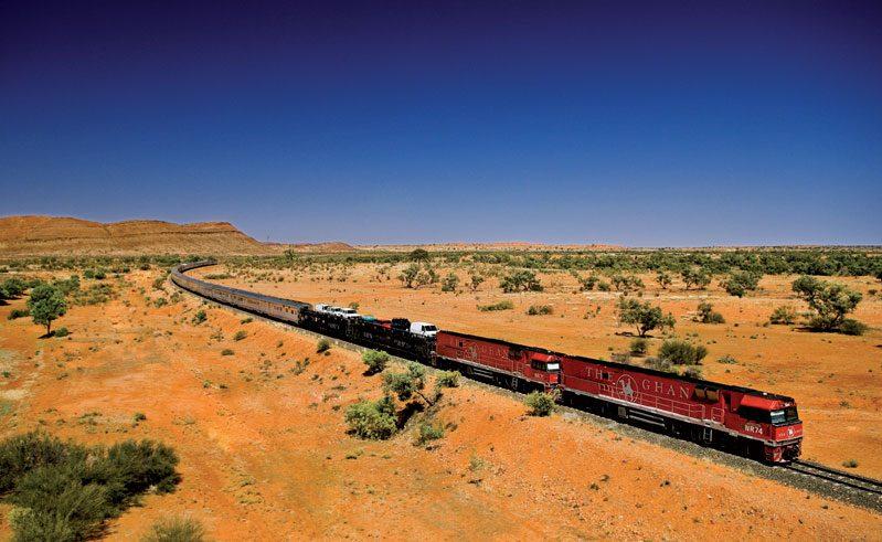 australia the ghan train