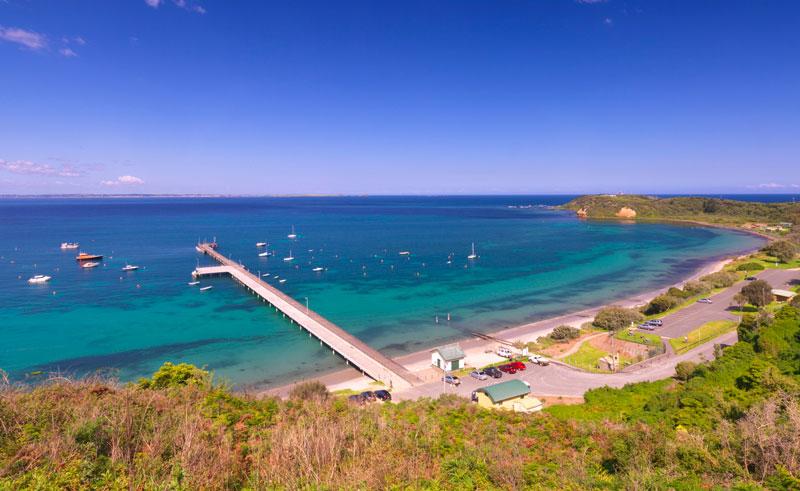 australia victoria flinders hotel view