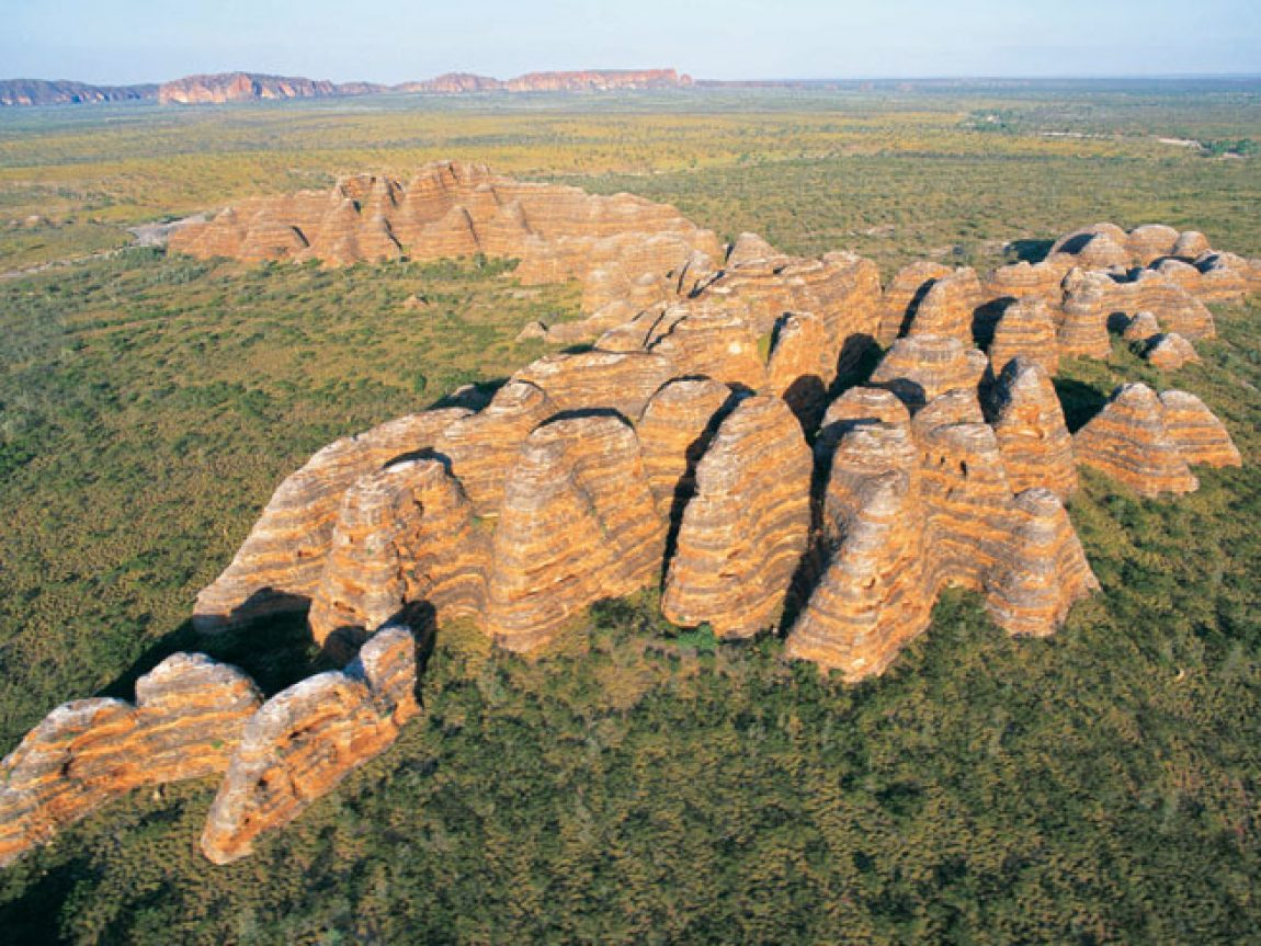 australia wa kimberleys bungle bungles aerial ta