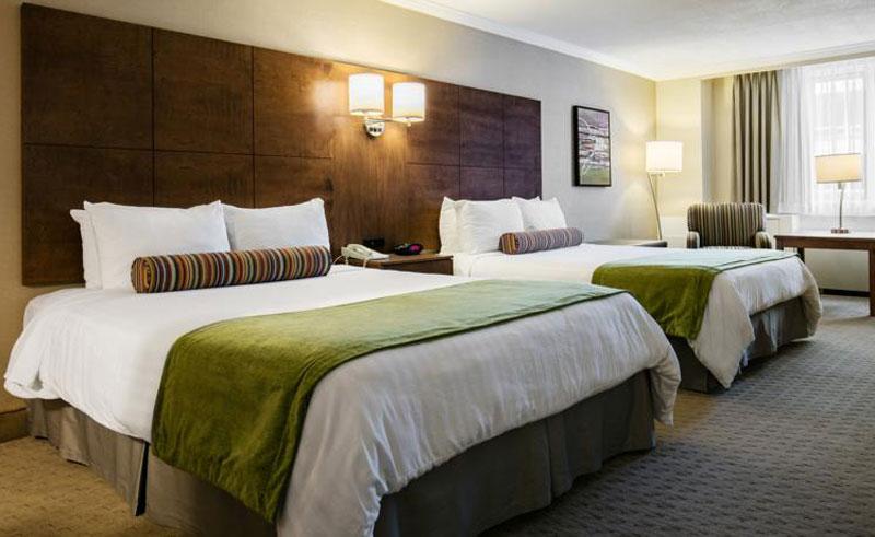 best western ville marie montreal bedroom