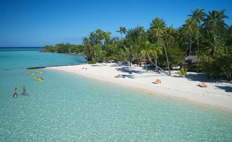 bora bora pearl beach resort and spa beach