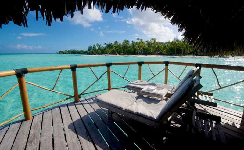 bora bora pearl beach resort and spa bungalow deck