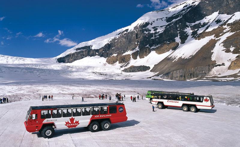 canada alberta athabasca glacier ice truck ctc