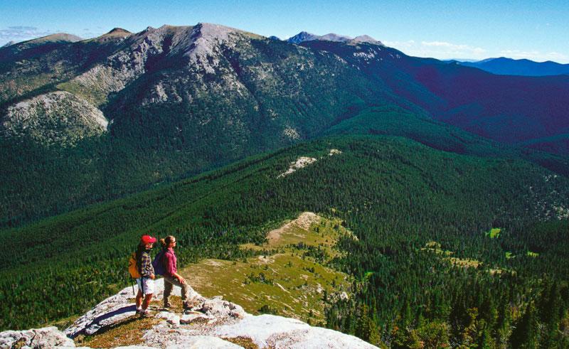 canada bc echo valley ranch hiking mt bowman