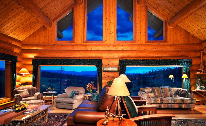 canada bc echo valley ranch main lodge dove lodge